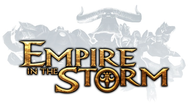 empire in the storm のロゴ画像です。