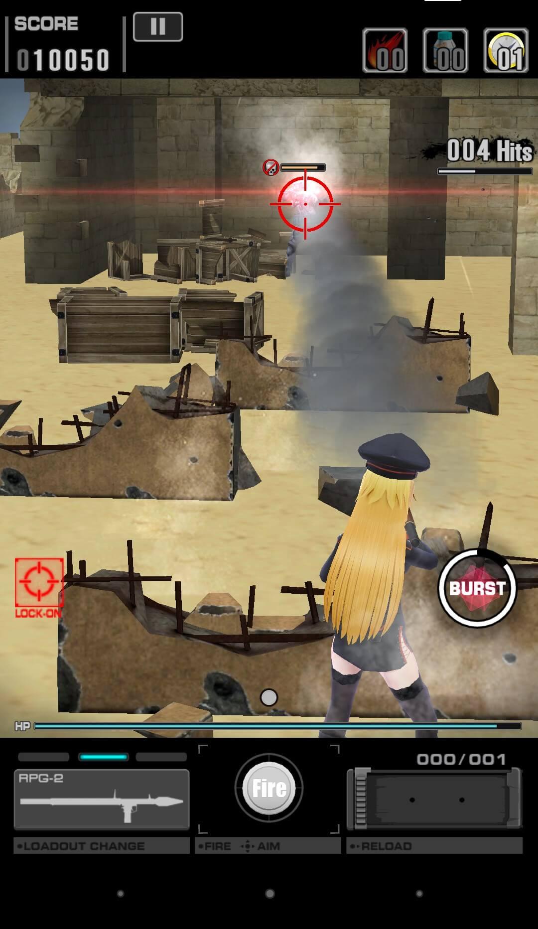戦闘画面その2