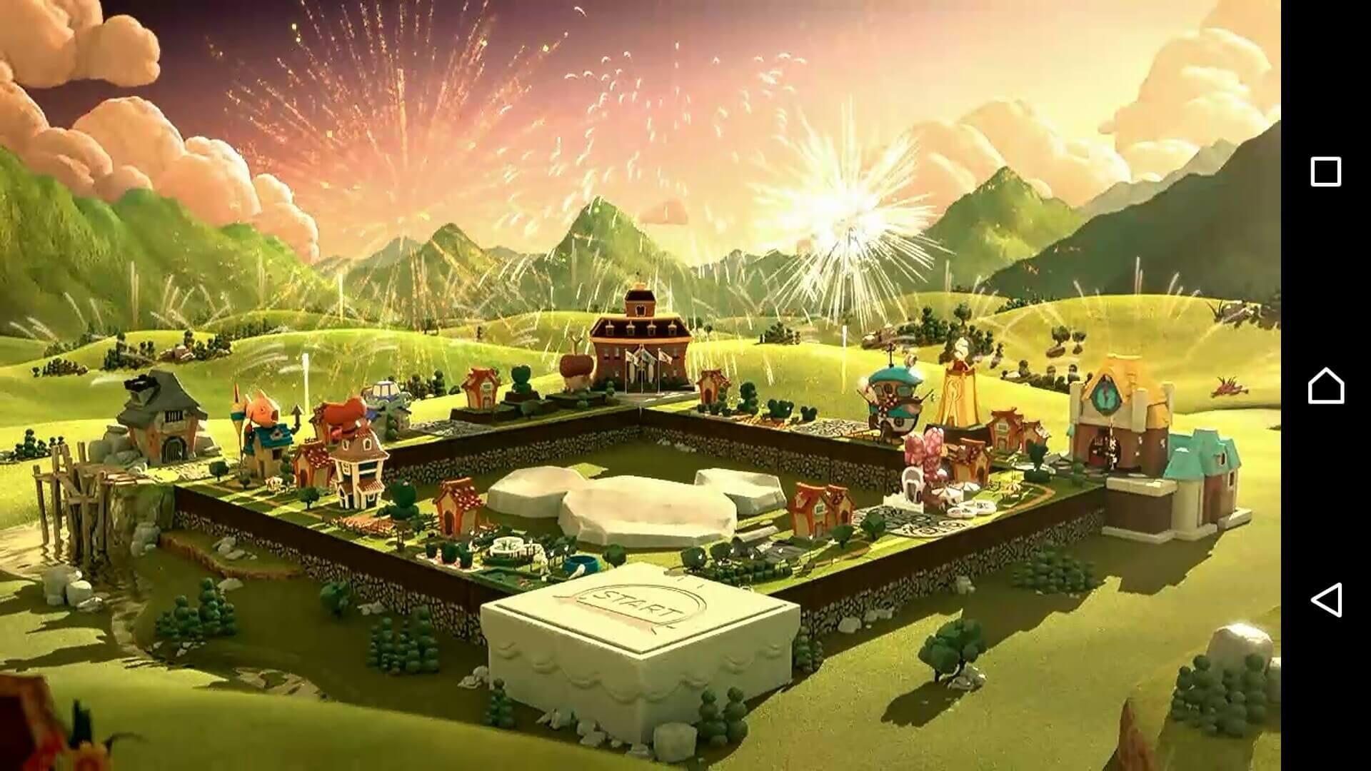 ディズニーマジカルダイス1 オープニングムービーの一幕