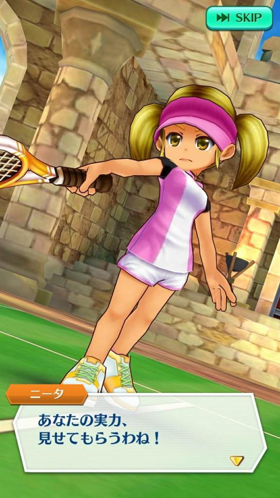 白猫テニス ニータ